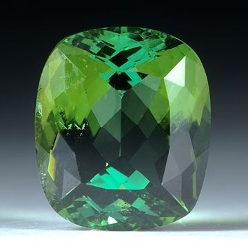 Turmalin facettiert 6.44ct. 12x10.5x7mm