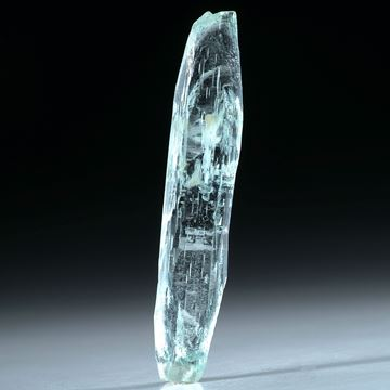 Aquamarin Kristall 9.34ct.  38x7mm