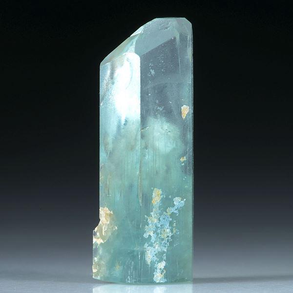 Aquamarin Kristall 12.13ct.  24x9mm