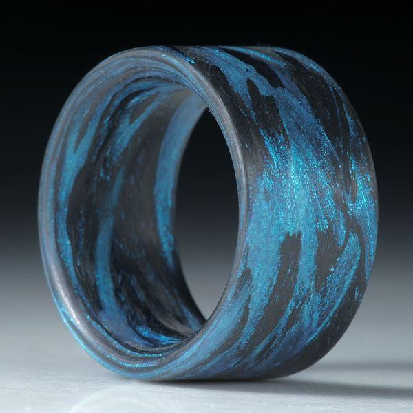 Fibertec Ring, Karbon/Glasfaser - Mira Türkis