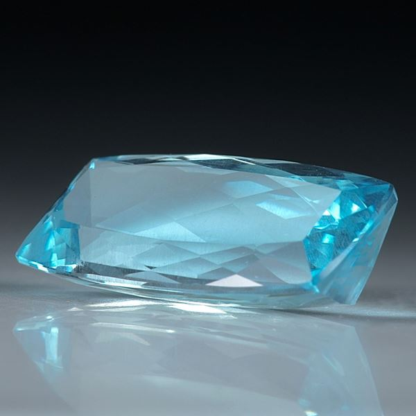 Aquamarin facettiert 7.23ct.  19x9x6mm