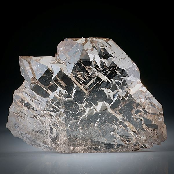 Bergkristall Gwindel Schweiz, ca.55x40x15mm