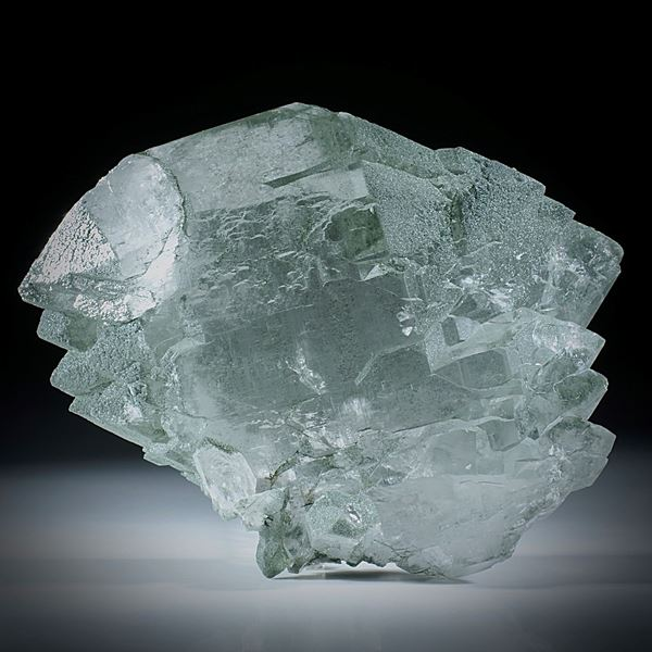 Bergkristall Gwindel Schweiz, ca.70x90x40mm