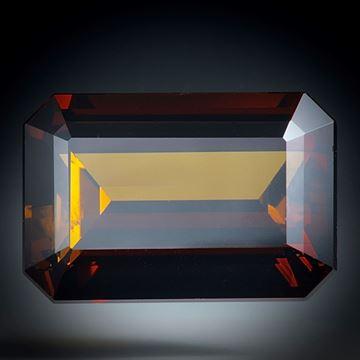 Turmalin Brasilien, 8.04ct. Treppenschliff ca.15x10x7mm
