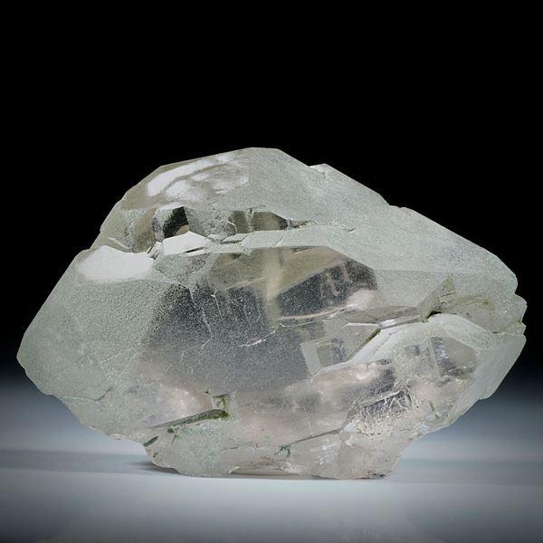 Bergkristall Gwindel Schweiz, ca.58x40x20mm