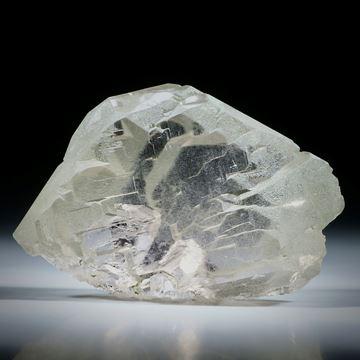 Bergkristall Gwindel Schweiz, ca.55x37x15mm