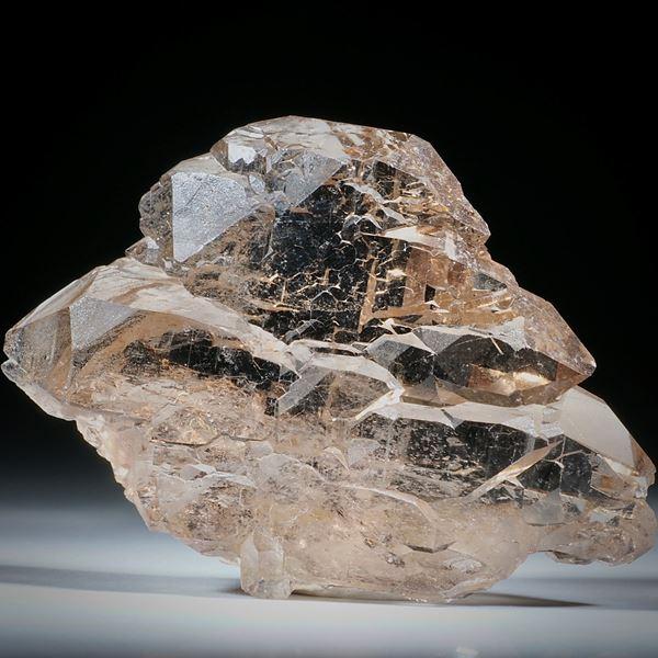 Bergkristall Gwindel Schweiz, ca.63x44x15mm