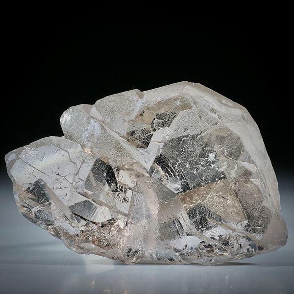 Bergkristall Gwindel Schweiz, ca.57x40x15mm