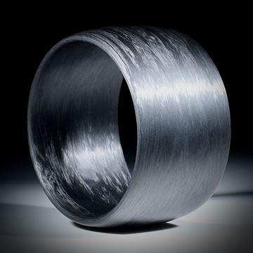 Karbon Armreif, gewickelte Struktur, Breite 43.5mm
