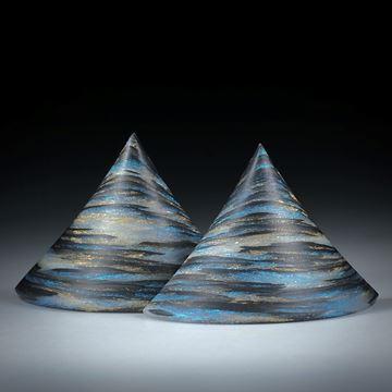 Karbon Paar mit Glasfaser Mira Türkis und Sonnengold