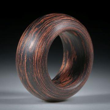 Karbonring mit Glasfaser Kupfer, gewickelt (Duplex)