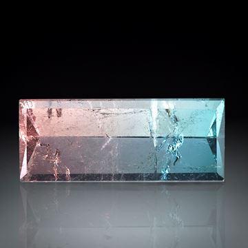 Turmalin Spiegelschliff 12.73ct  ca.24x10x7mm