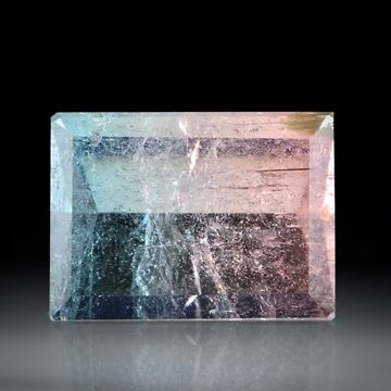 Turmalin Spiegelschliff, 12.09ct  ca.16.5x12x8mm