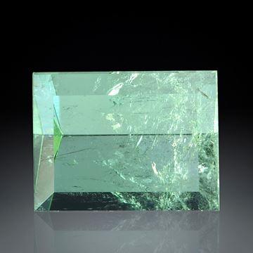 Turmalin Spiegelschliff 7.9ct  ca.13.5x10x7mm