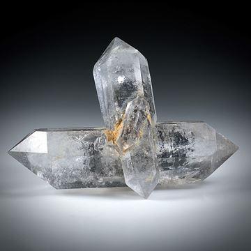 Bergkristall Doppelender Kreuz (China) ca.52x42x19mm
