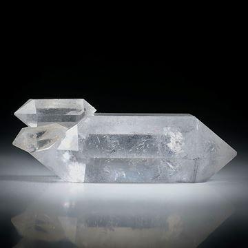 Bergkristall Doppelender (China) ca.53x15x16mm