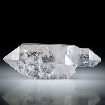 Bergkristall Doppelender (China) ca.53x16x20mm