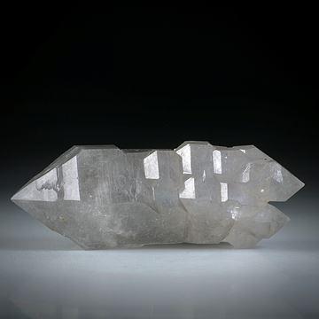 Bergkristall Doppelender (China) ca.58x21x16mm