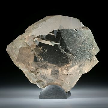 Bergkristall Gwindel Schweiz, ca.65x55x20mm