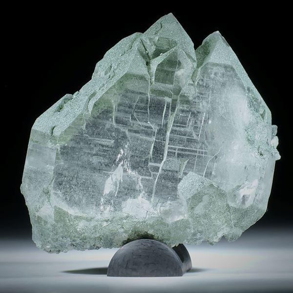 Bergkristall Gwindel Schweiz, ca.65x60x20mm, Sammlerstück, Atelier Hochstrasser     145g