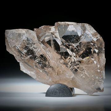 Bergkristall Gwindel Schweiz, ca.83x55x20mm