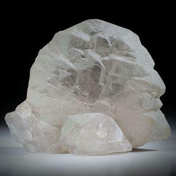 Bergkristall Gwindel Schweiz, ca.75x60x20mm