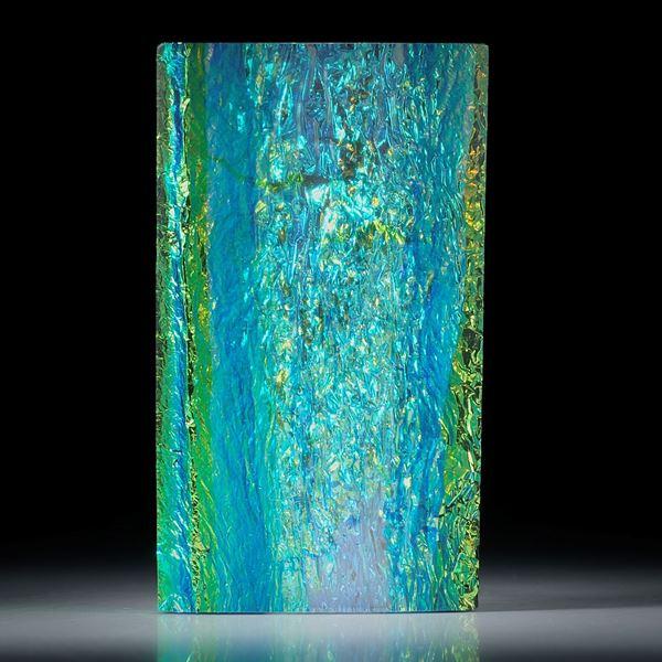 Opalglas Rechteck mit gespannter Oberseite poliert, ca.58x33x9.5mm