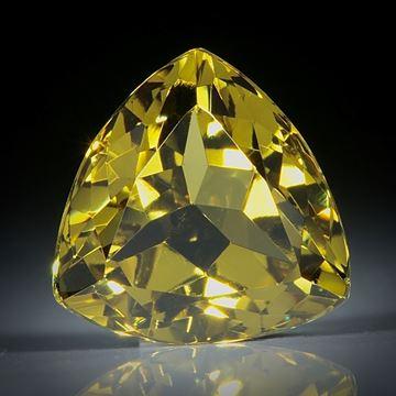 Grossular (Granat) Dreieck facettiert ca.10.5x10.5x6.5mm,  5ct.