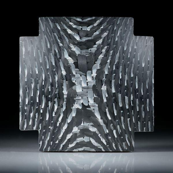 Kreuz aus Karbon mit Alutexgewebe