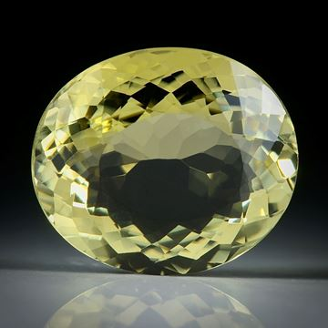Turmalin oval facettiert 7.75ct.  14.5x12.5x6.5mm