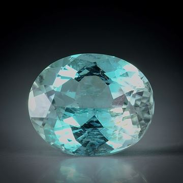 Turmalin oval facettiert 3.97ct.  11x9x6mm