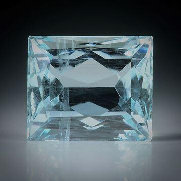Aquamarin Scherenschliff 5.06ct. 11x9x6.5mm