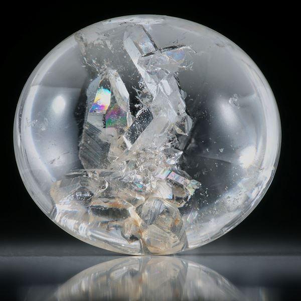 Quarz in Quarz 97.45ct. Bergkristall mit eingewachsenen Kristallen