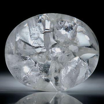 Quarz in Quarz 139.04ct. Bergkristall mit eingewachsenen Kristallen