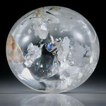 Quarz in Quarz 89.22ct. Bergkristall mit eingewachsenen Kristallen