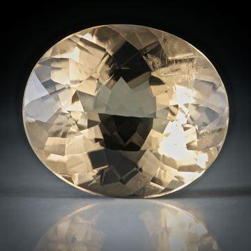Turmalin oval facettiert 12.16ct.  17x14x8.5mm