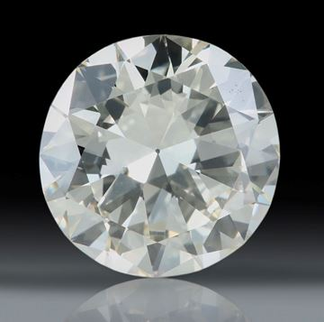 Diamant, Altschliff 3.2ct. vsi, light yellow, ca. 9.6x9.6x5.6mm
