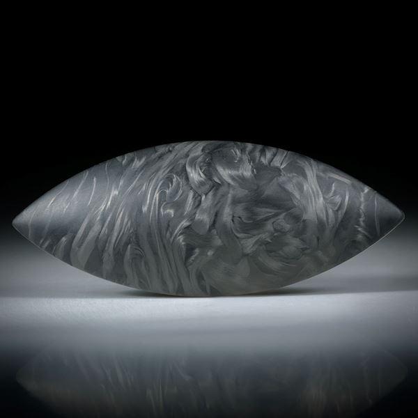 Karbon Navette mit asymmetrischem Faserverlauf ca.59x24x7mm