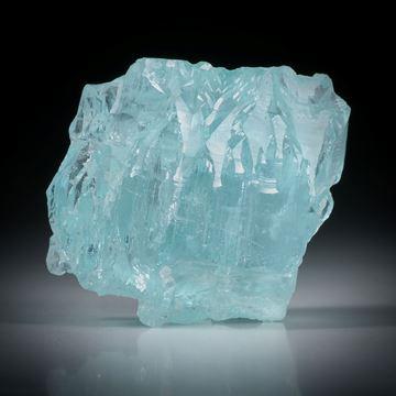 Aquamarin Kristall aus Brasilien, ca.33x33x26mm, 136.81ct.