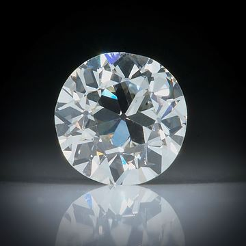 Diamant Altschliff 1.02ct. ca.6.4x6.4x4mm, K/vs2