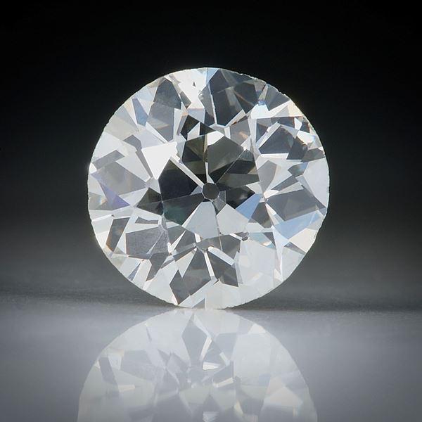 Diamant Altschliff 1.63ct. ca.7.6x7.5x4.6mm, J/vs2