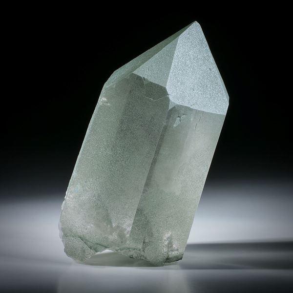 schweizer Bergkristall mit Chlorit ca.95x51x37mm
