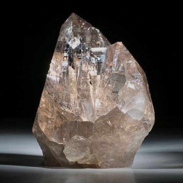 schweizer Bergkristallstufe Rauchquarz ca.123x95x55mm