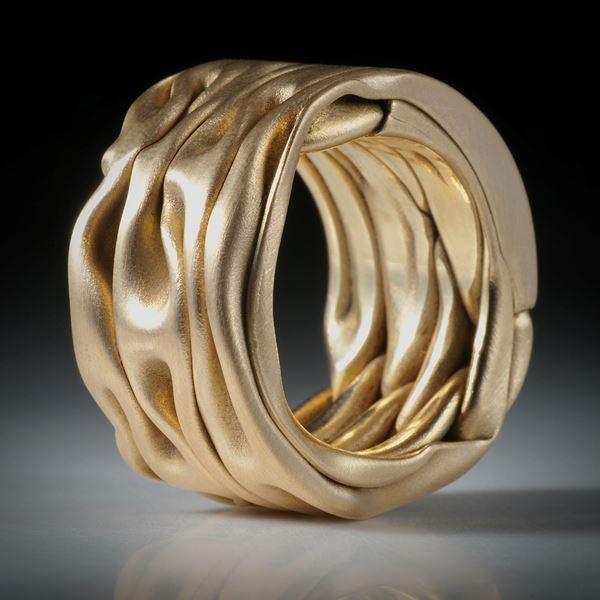 Goldring Gelbgold 18K GG/750, Ringgrösse 18.5