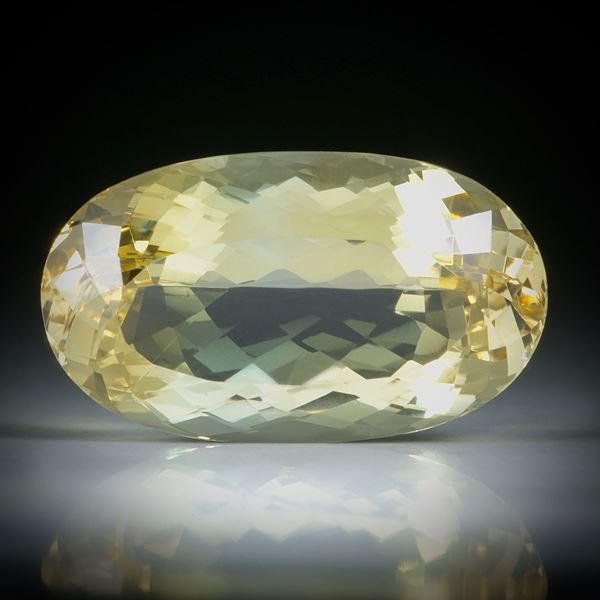 Goldberyll 15.86ct. oval facettiert ca.22x13x9mm