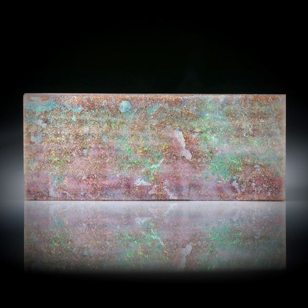 Boulderopal Australien 62.47ct.  Rechteck ca.53x22x5mm