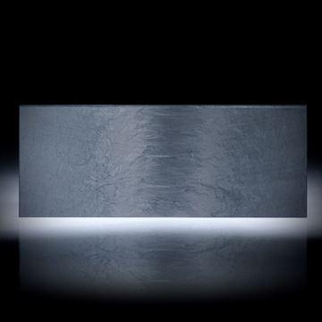 Karbon Scheibe 48.3ct. rechteckige Form mit gewickelter Struktur ca.64x25x4mm