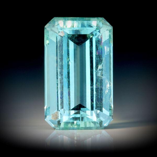 Turmalin 3.55ct. Smaragdschliff ca.11.5x7x5mm