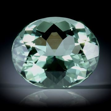 Turmalin oval facettiert 5.94ct.  13x11x7mm,
