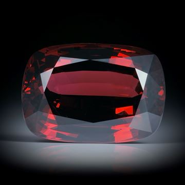 Granat 24.99ct. Cushion-Cut ca.20x14x9mm